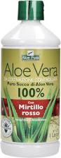 Aloe Vera Succo Mirtillo Rosso,Optima naturals